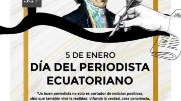dia del periodista ecuatoriano